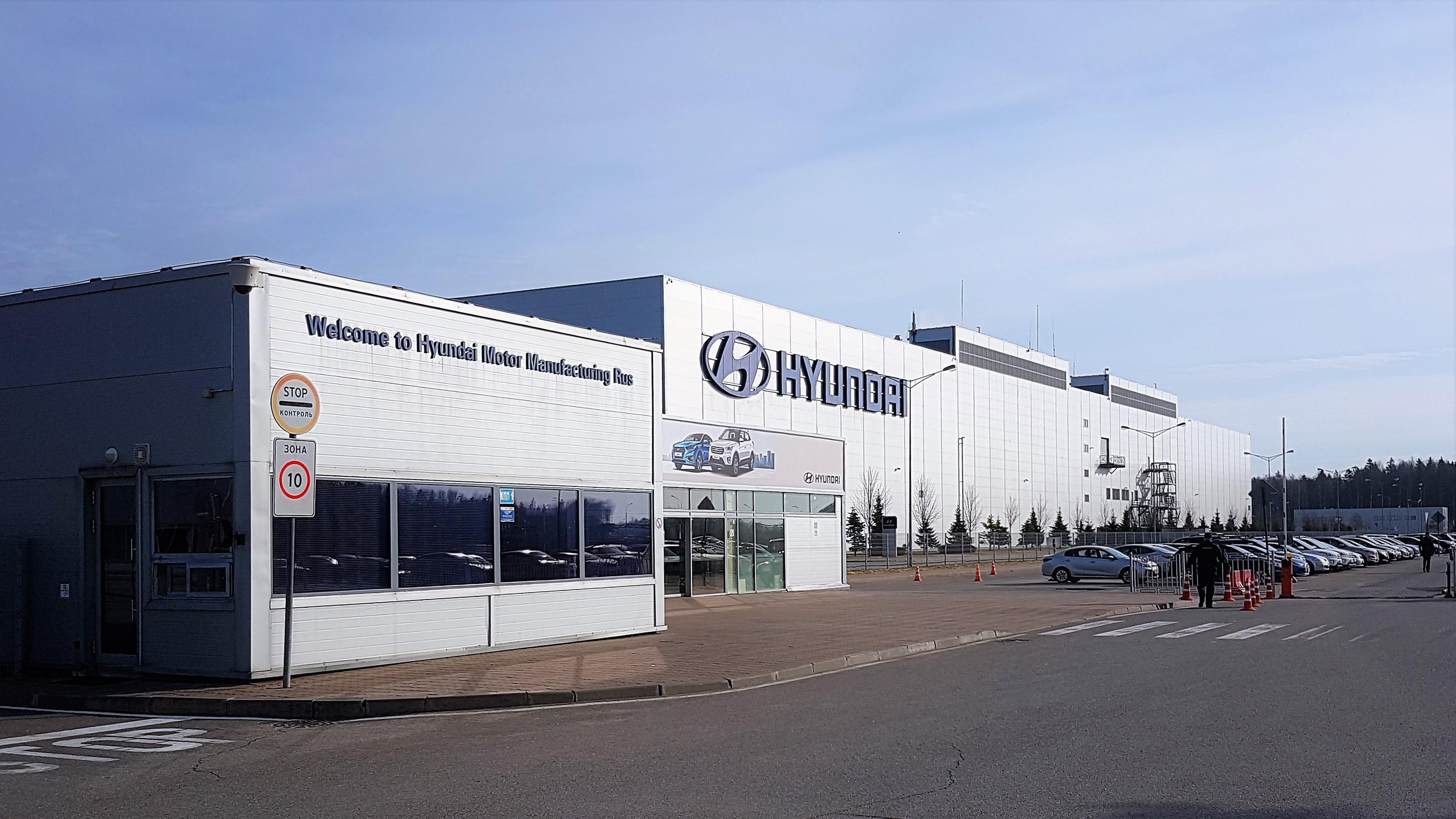 Очень советую мальчикам и девочкам в возрасте до 90 лет сходить на экскурсию на завод Hyundai в Санкт-Петербурге